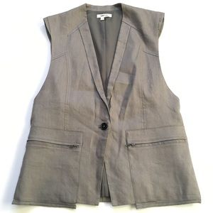 HELMUT LANG Button Vest Size Small